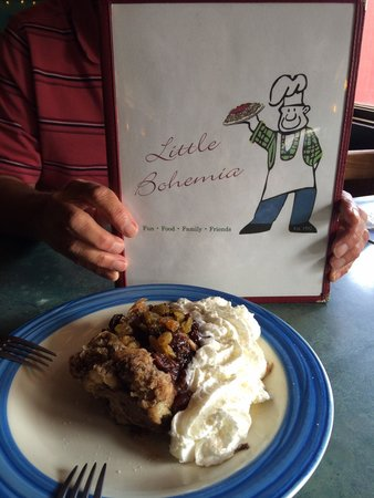 Little Bohemia: Cherry Bread Pudding