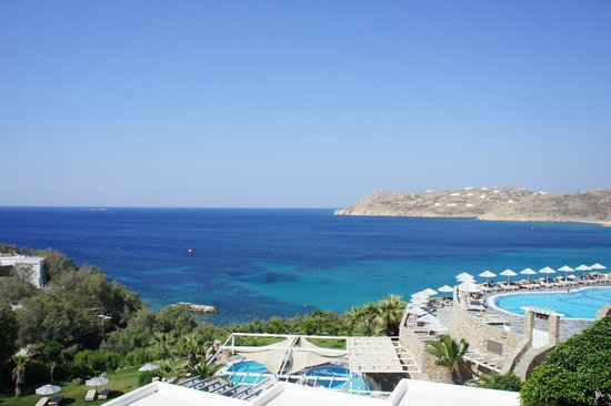 Myconian Imperial Resort : View from room 198