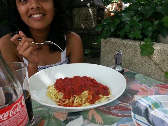 Stella Hotel Interlaken: Spaghetti bolognese