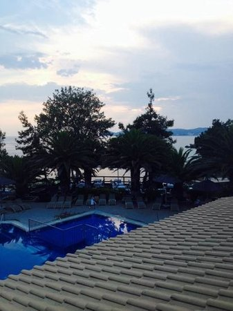 Alexandra Beach Thassos Spa Resort: view from the roof top restarant