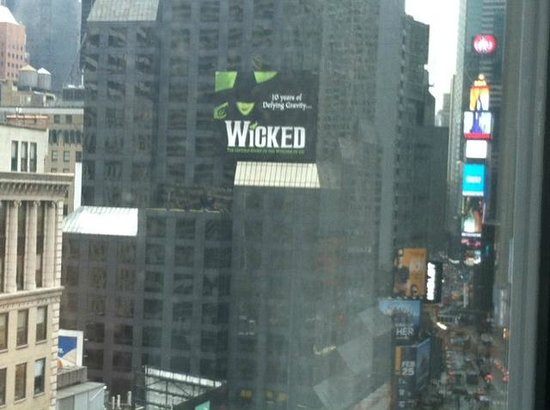 Novotel New York Times Square: room view