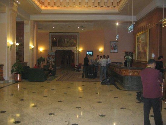 Mahdia Palace Thalasso : Холл отеля