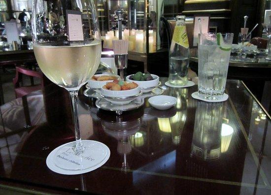 Le Meurice : Drinks
