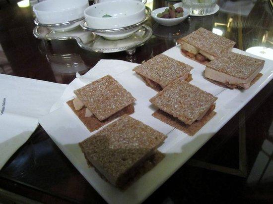 Le Meurice : Foie Gras