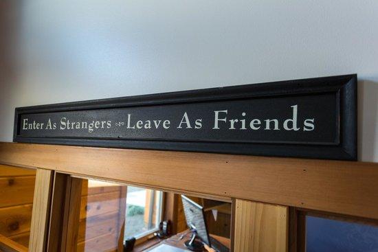 Snug Harbor Resort & Marina: Our Motto