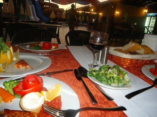 Eftalia Holiday Village: ужин