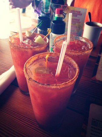 Island Fish Company : Yummy Bloody Marys