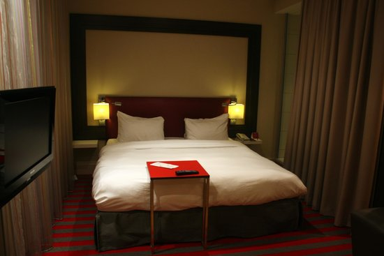Mercure Warsaw Grand : The bed