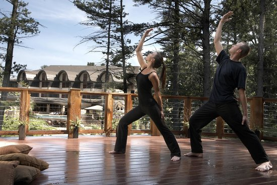Sundara Inn and Spa: Yoga classes offered daily