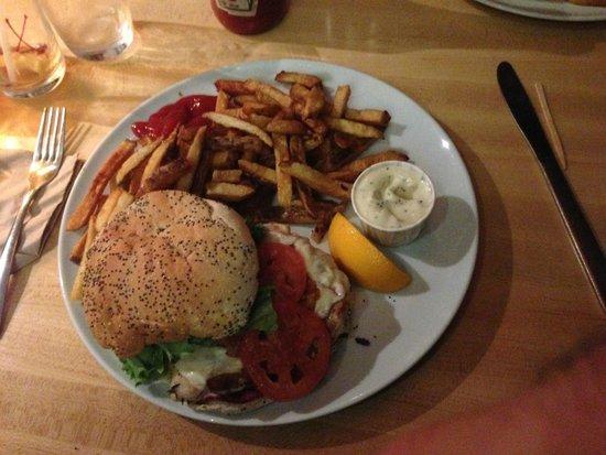 Chez Victor: burger poulet