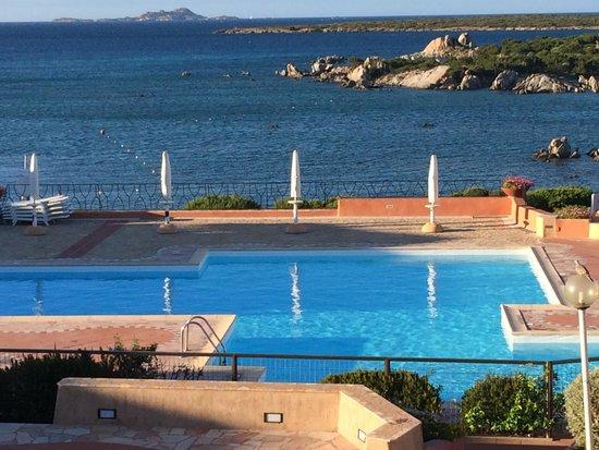 Residence Marineledda & Vela Blu: Veduta dall'appartamento