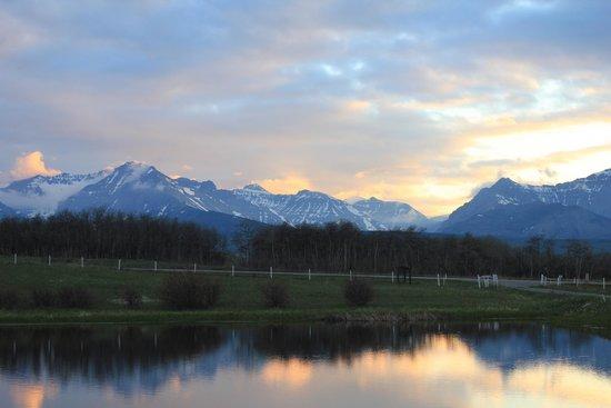 Dungarvan Creek Bed & Breakfast: Evening views
