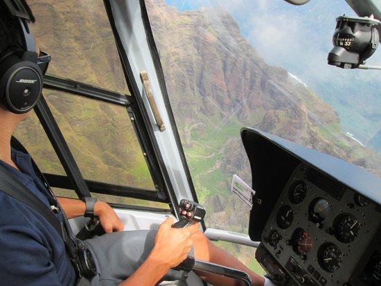 Blue Hawaiian Helicopters - Kauai: Hi, Chris!!!