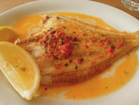The Maltsters Arms: Plaice (after my wife had already taken a mouthful!)