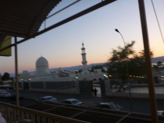 Al Qidra Hotel : Mosque at Sunset