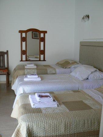 Hosteria Las Piedras: Habitación Triple con camas individuales