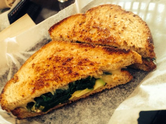 Green Goddess Cafe: The Goddess Grilled Cheese