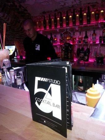 Studio 54 Cocktails & Pintxos Bar : Carte Studio 54