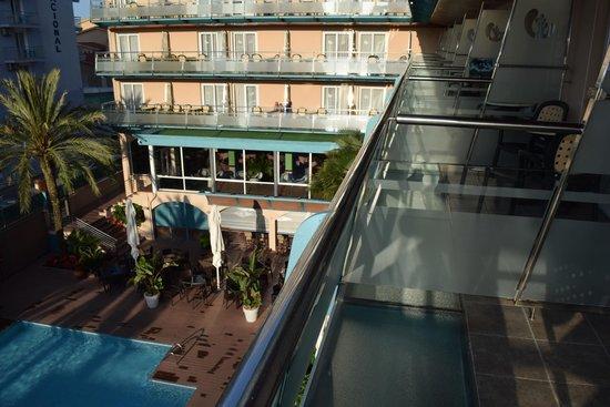 Hotel Kaktus Playa: балкон