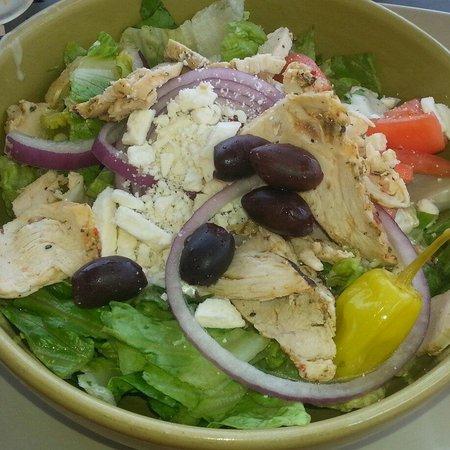 Panera Bread: Greek salad