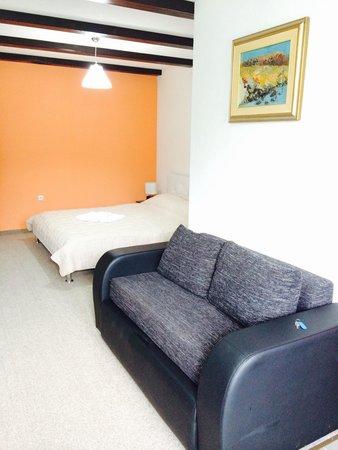 Vila Cancar : Double room downstairs