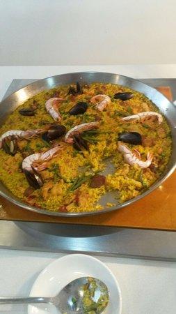 Hotel Paguera Park: 1 voorbeeld van t heerlijke eten.