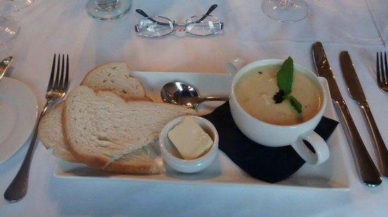 Berkley Hotel Ayr: Homemade Cullen Skink. Also Yum!
