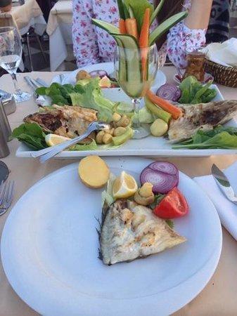 Seven Hills Restaurant : 80$ fish.