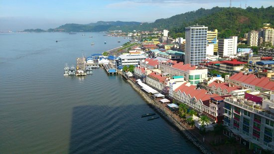 Four Points by Sheraton Sandakan : View from the room