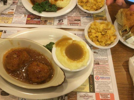 Yoder's Restaurant & Buffet : ham balls