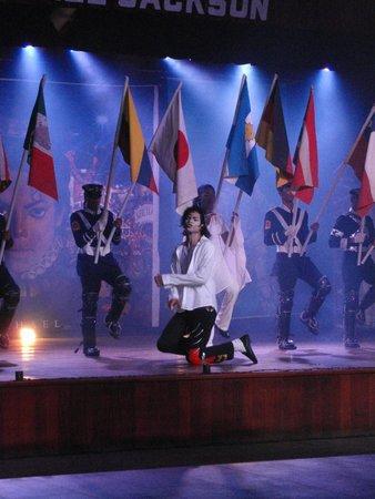 Barcelo Bavaro Beach - Adults Only: шоу Майкла Джексона
