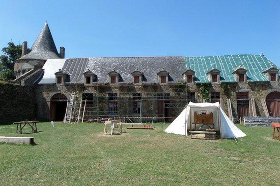 Chateau de Landal: The stables