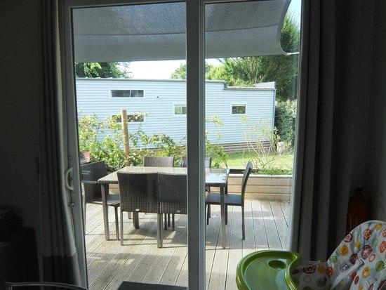 Camping Sunelia L'Atlantique : Terrasse