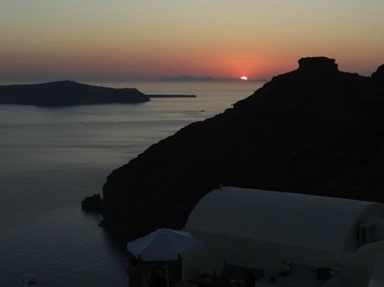 Santorini View : Every night - another beautiful sunset