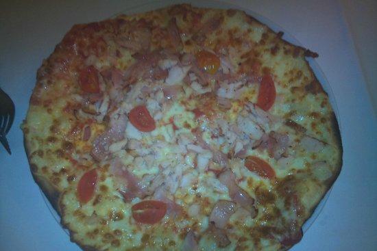 La Mafia: Pizza de pollo
