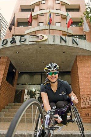 Hotel D&D Inn Tibana Caracas: Apoyamos el Deporte para  discapacitados