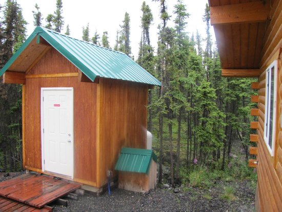 Northern Nights Campground and RV Park : Just by the cabin