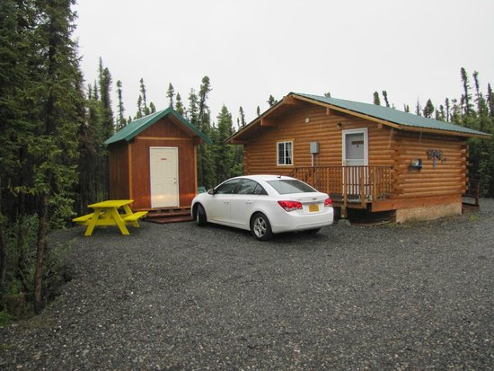 Northern Nights Campground and RV Park : Our cabin for the night