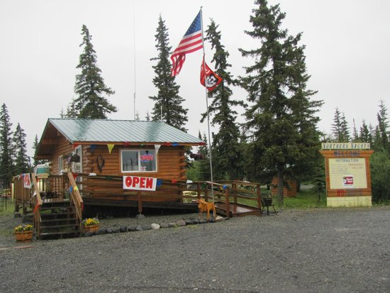Northern Nights Campground and RV Park: The reception office