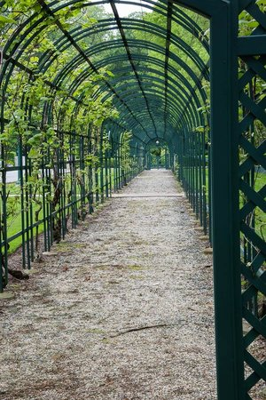 Nemours Mansion U0026 Gardens: Vegetable Garden Trellis