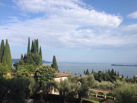 Il Vittoriale degli Italiani: La vista appena si entra...