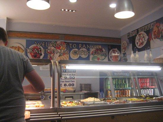 Epicurean Food Hall : Ramos buffet