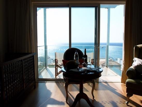 Atrium Prestige Thalasso Spa Resort and Villas: vista mare