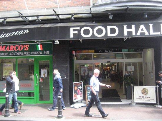 Epicurean Food Hall : Entrance Liffey St
