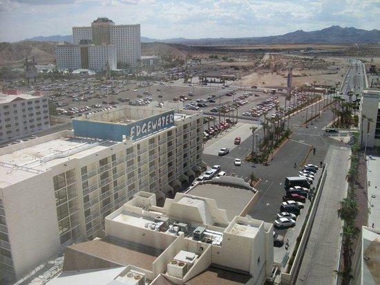 Edgewater Hotel & Casino: Sedona Tower - 15th Floor Room View