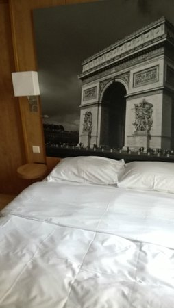 Best Western Hotel Ronceray Opera : letto
