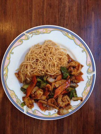 Yu Family Kitchen: Dit is het gerecht garnalen in zwarte bonensaus. Echt een aanrader!