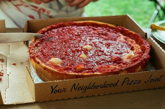 Oregano's Pizza Bistro: A thing of great beauty: Numero One-o Stuffed Pizza from Oregano's!