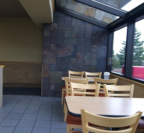 Dairy Queen: I like the window seating