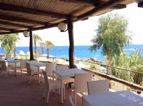 Arbatax Park Resort - Dune: view from the restaurant